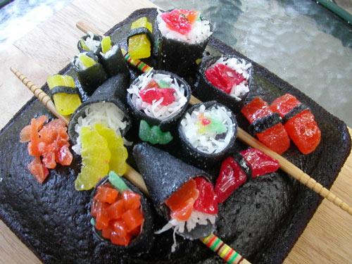 Very Yummy Sushi Food Art