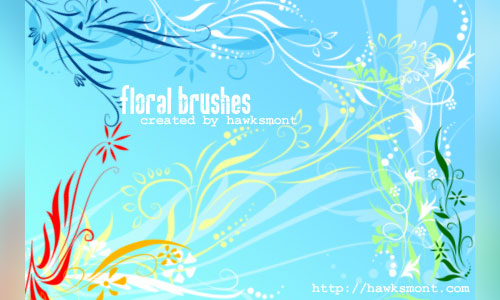 Must Have Floral Photoshop Brushes
