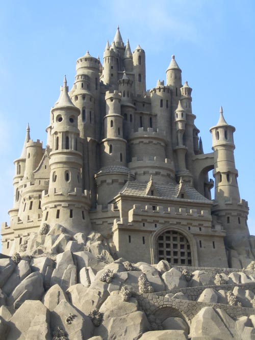 Appealing Sand Castle Sculpture