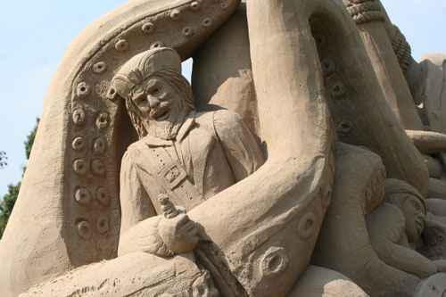 Really Big Sand Sculpture