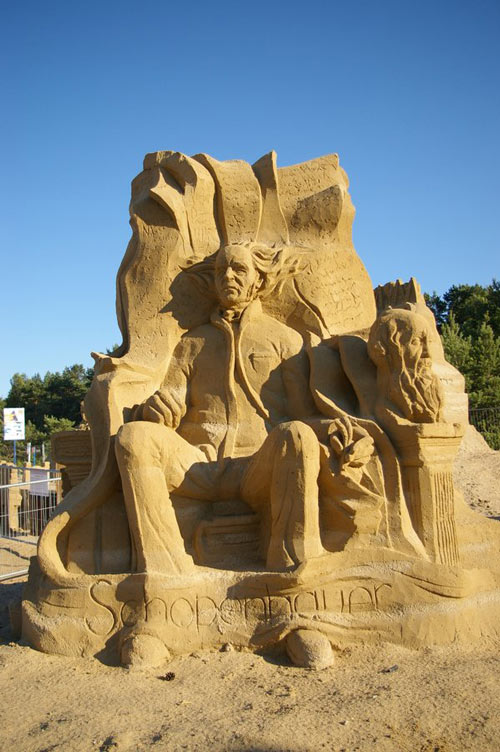 Seemingly Real Sand Sculpture