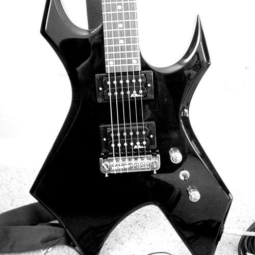 Guitar That Rocks Photography
