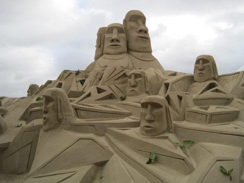 Island Sand Sculpture