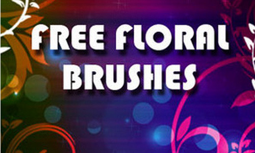 Certainly Nice Floral Brushes