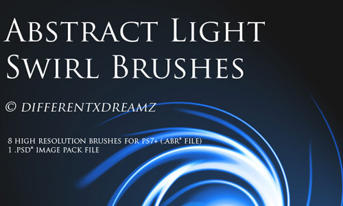 Relaxing Abstract Photoshop Brushes
