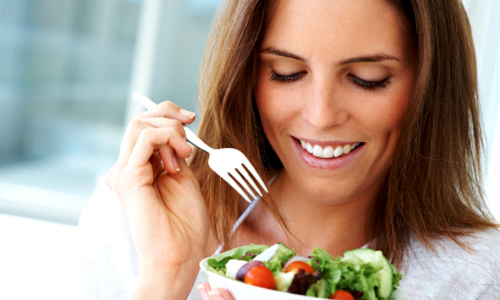 Have healthy meals and snacks