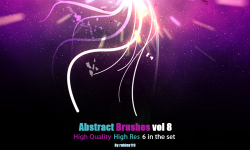 Real Superb Abstract Photoshop Brushes