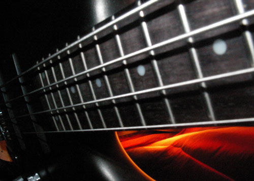 Cool Strings on Guitar Photo
