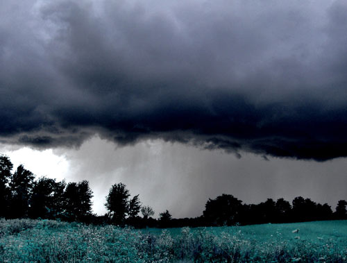 Big Storm but Nice on Photo