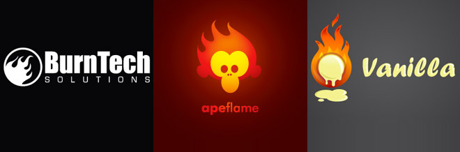 30 Examples of Flickering Flame Logo Designs