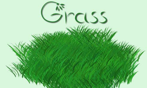 Amazing Set of Grass Photoshop Brushes