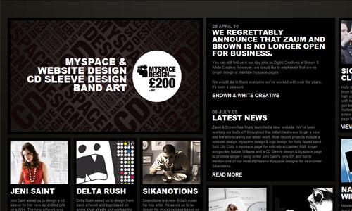 So Nice Magazine-Themed Website