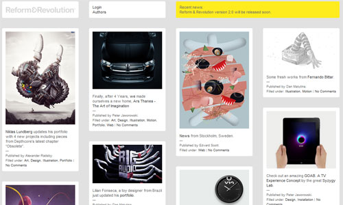 Simply Inspiring Magazine-Themed Web Design