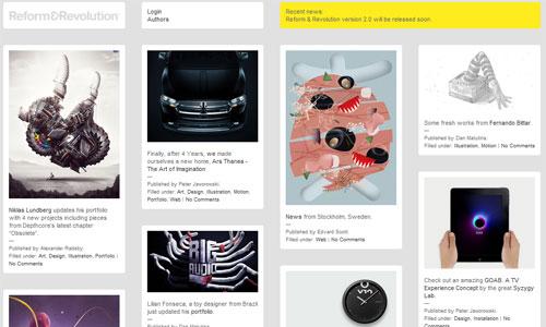 Simply Inspiring Magazine-Themed Web Design
