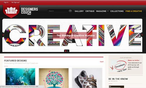 Perfectly Creative Magazine Themed Website