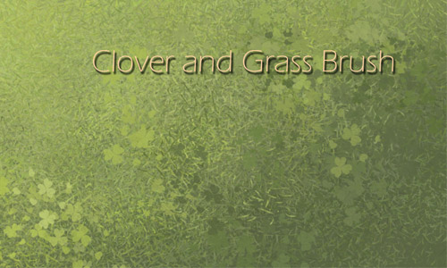 Appealing Set of Grass Photoshop Brushes