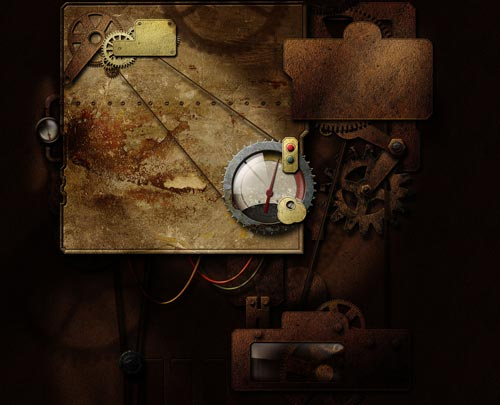 Simply Fantastic Steampunk Wallpaper
