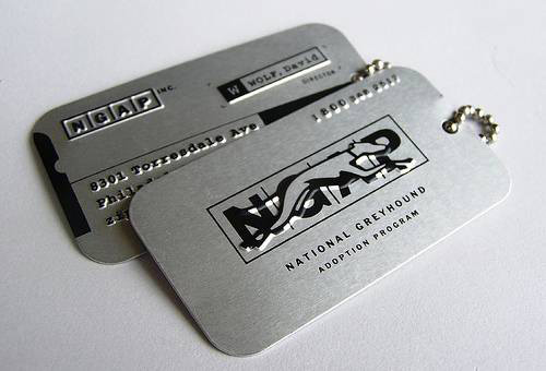 Amazingly Cool Metallic Business Card
