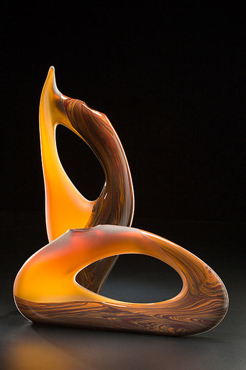 Very Much Inspiring Glass Sculpture