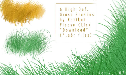 Grass Photoshop Brushes To Have