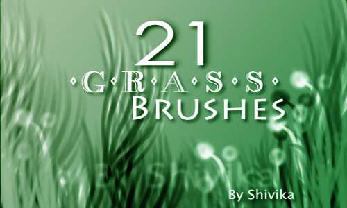 Must Collect Grass Photoshop Brushes
