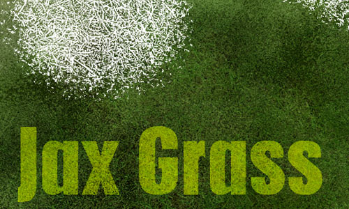 Really Pretty Set of Grass Photoshop Brushes