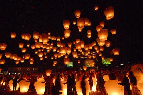 Simply Inspiring sky Lantern Photo.