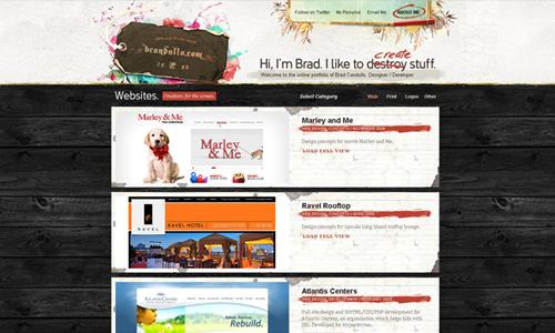 Your design portfolio