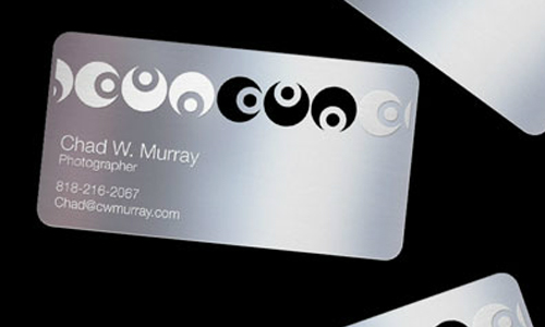 Long Lasting Metallic Business Card