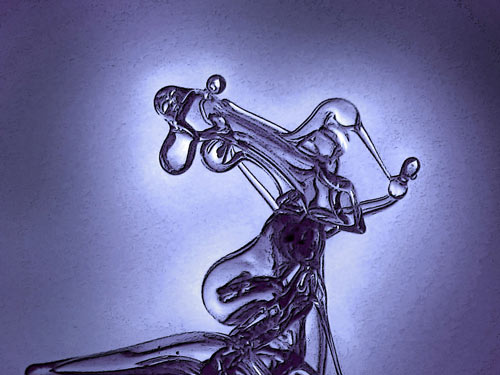 Nicely-Done Glass Sculpture