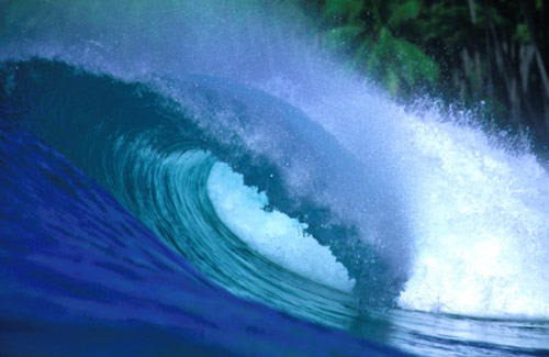 Wonderful waves photo.