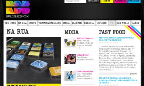 Unconfusing Magazine-Themed Website