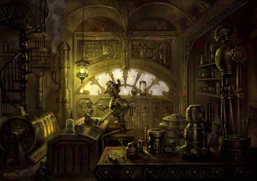 So Pretty Steampunk Wallpaper