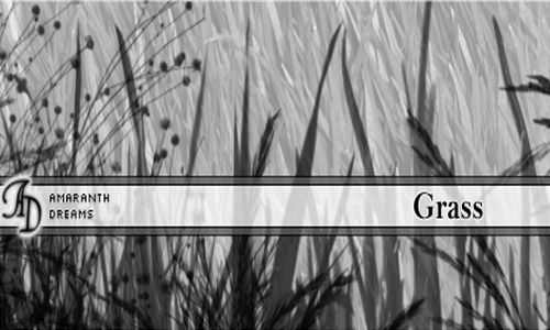 Lovable Set of Grass Photoshop Brushes
