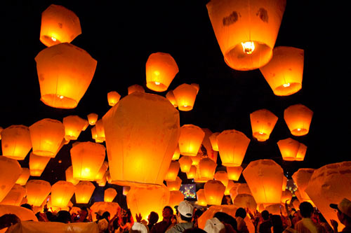 Photography Inspiring Sky Lanterns.