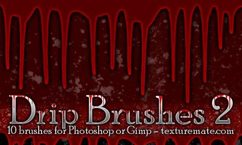 drip blood