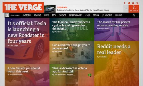 gradient website