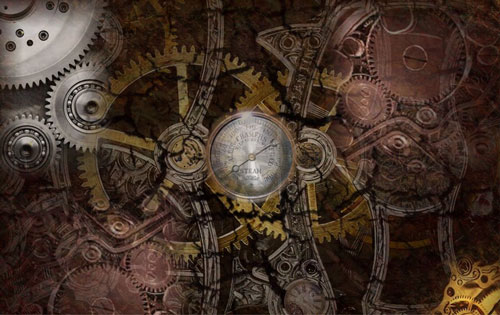 Perfectly Nice Steampunk Wallpaper