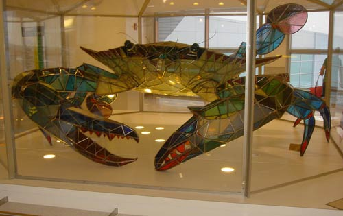 Indeed Creative Glass Sculpture