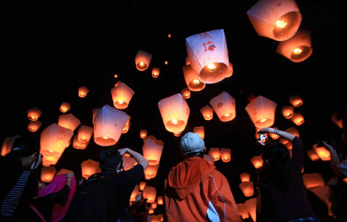 Indeed Promising Sky Lantern Flight.