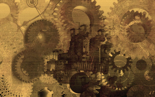Nicely Customized Steampunk Wallpaper