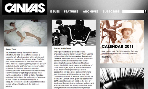 Simply Appealing Magazine-Themed Web Design