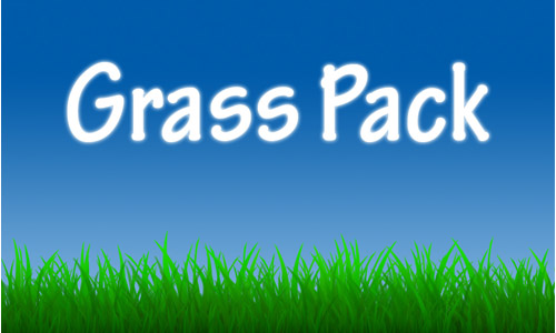 Amusing Set of Grass Photoshop Brushes