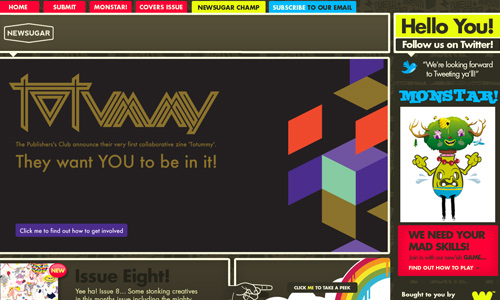 Neatly Done Magazine Themed Web Design