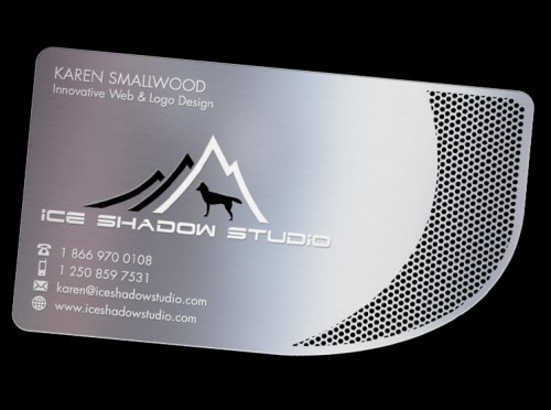 Fantastic Metallic Business Card