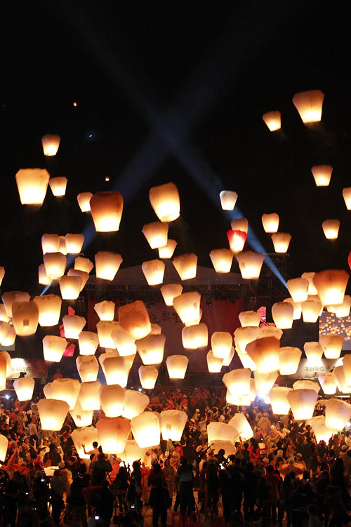 To Look Forward To Sky Lantern Photo.
