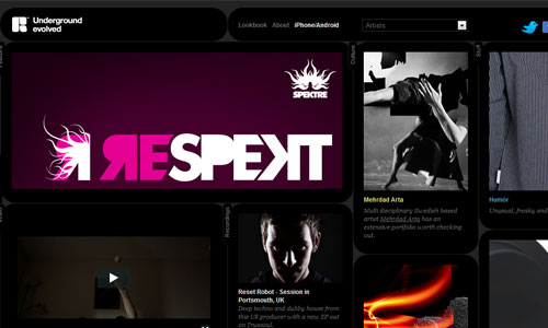 Smoothly Created Magazine-Themed Web Design