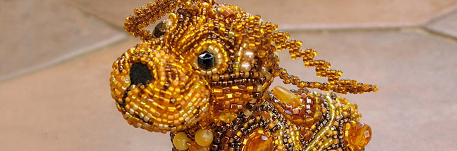 30 Examples of Decorative and Colorful Bead Art Creation