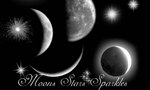 Cool Moon and Star Brushes