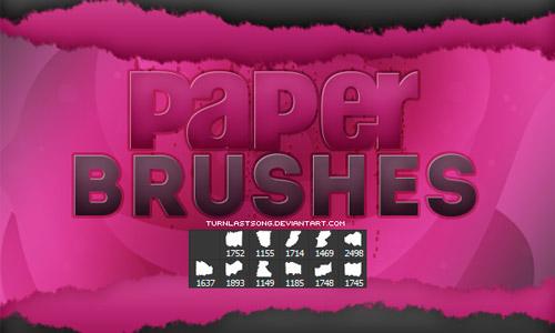 paper brush